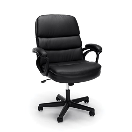 Essentials Leather Executive Chairby OFM...