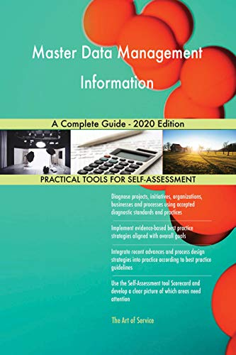 Master Data Management Information A Complete Guide - 2020 Edition (English Edition)