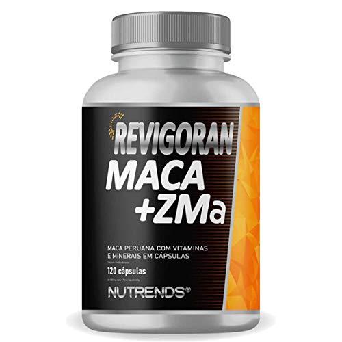 Revigoran Maca + ZMA 120 cápsulas, Nutrends