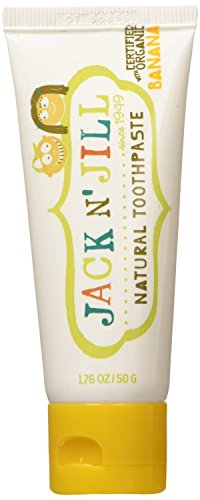 Jack N' Jill Natural Toothpaste, Banana, 1.76oz (Pack of 2) by Jack N' Jill