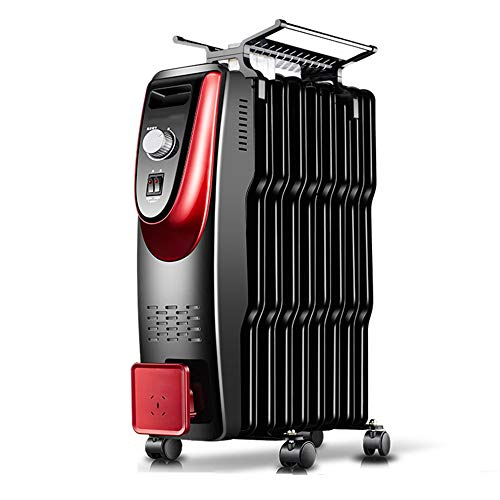 Radiator Air Choice met oververhittingsbeveiliging thermostaat instelbaar 2000W veiligheidsuitschakeling tranquillo radiant olie heater 11Fin