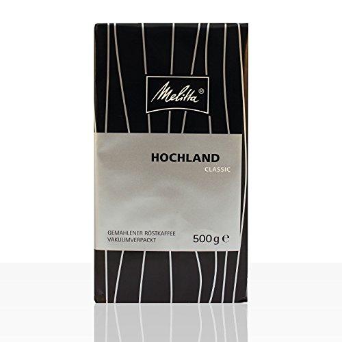 Melitta Hochland Classic Filterkaffee 500g Kaffee in Gastroqualität