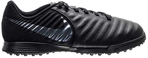 Nike Unisex-Kinder Tiempo Legend VII Academy TF Futsalschuhe, Schwarz (Black/Black 001), 38 EU
