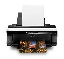 Epson Stylus Photo R2000 Wireless Wide-Format Color Inkjet Printer (C11CB35201)