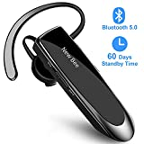 New Bee Bluetooth Headset V5.0 Wireless Headset Bluetooth Freisprechen im Ohr mit Clear Voice Capture Technologie Bluetooth In-Ear Headset für iPhone Samsung Huawei HTC, Sony, usw