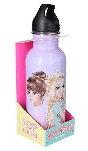 Depesche 3956 Trinkflasche aus Edelstahl im TOPModel Nice Design, Fassungsvermögen ca. 660 ml, Schraubverschluss, auslaufsicher, ohne BPA und Weichmacher