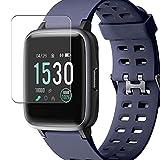 Vaxson 3 Unidades Protector de Pantalla, compatible con Willful SW020 1.3' smartwatch Smart Watch [No Vidrio Templado Carcasa Case ] Película Protectora Film Guard