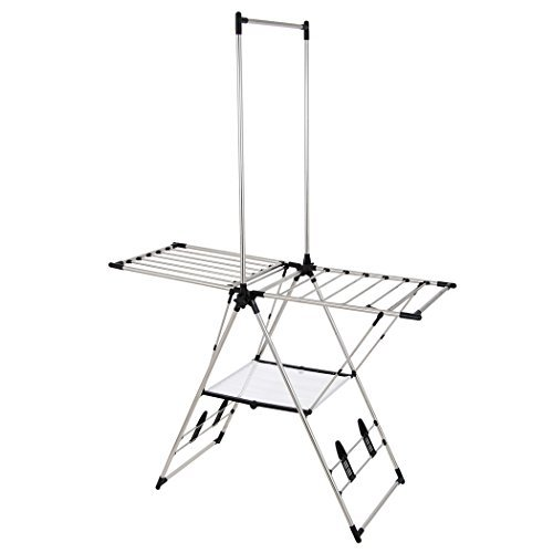 Greenway Stainless Steel Indoor/Outdoor Large Drying Center with Mesh Shelf by Greenway