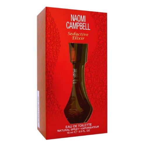 Naomi Campbell Seductive Elixir Women EDT Spray 15ml, 1er Pack (1 x 15 ml)
