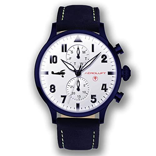 Reloj de Hombre Piloto Aviador Type 1 Oswald Boelcke