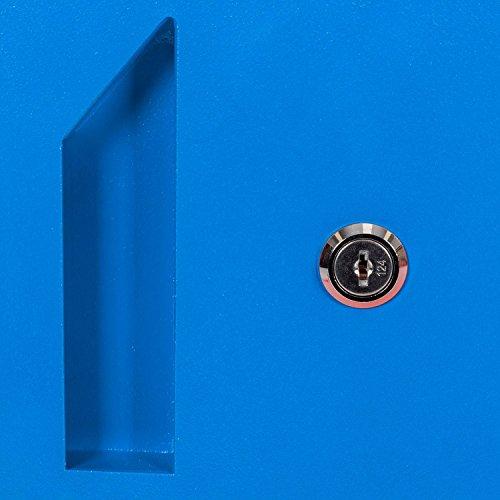 Paketbriefkasten Smart Parcel Box, blau - 9