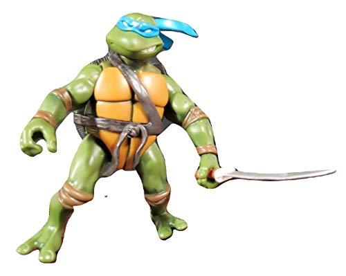 Mirage Studios Playmates TMNT Teenage Mutant Ninja Turtle Leonardo 4.5' Action Figure - 2002