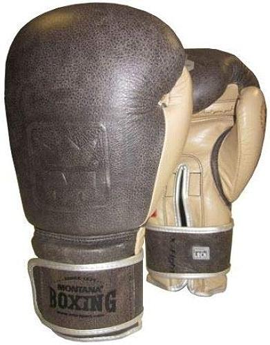 Montana X-Fight Héritage Gants de Boxe 14 oz Mixte Adulte, Havane