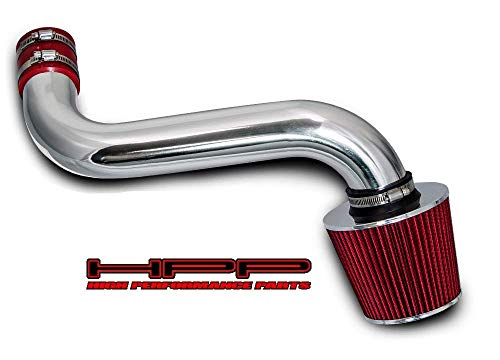 High performance parts Short Ram Air Intake Kit & Red Filter Combo Compatible for 92-95 Chevrolet S10 / Blazer/GMC Jimmy/Sonoma / 92-94 Oldsmobile Bravada 4.3L V6 CPI (Vortec CPI Engine Only)