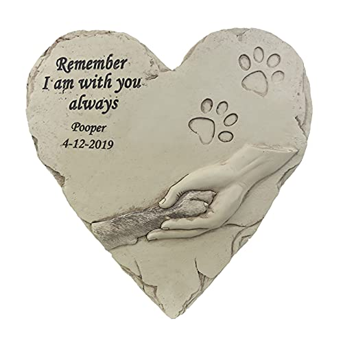 Amuzocity Lápida Conmemorativa para Mascotas, Lápida para Jardín de Gatitos