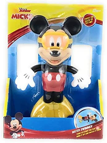 Disney Mickey Mouse Water Swimmer Wind up Bath Pool Toy product image
