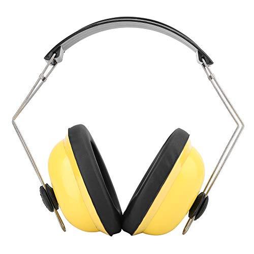 Gehoorbescherming, opvouwbare gehoorbescherming oorkappen 17db NRR geluiddichte gehoorbescherming, geschikt voor fabrieken, thuis, slaapkamer, auto, boot, vliegtuig, bouwplaats