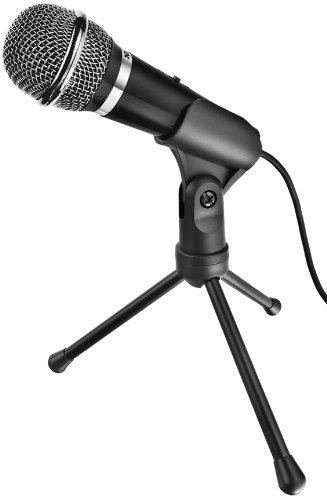 Trust Starzz - Micrófono para Ordenador, Negro