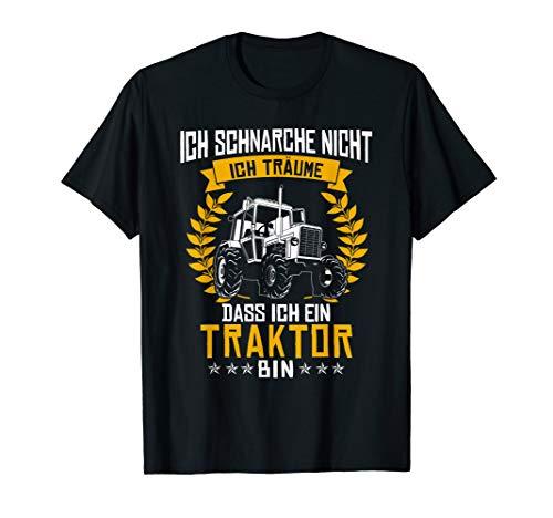 Ich Schnarche Nicht Ich Träume Dass Ich Ein Traktor Bin Tee