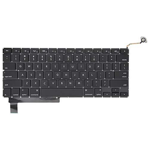 Toetsenbord voor tablet, vervangend toetsenbord voor MacBook Pro Unibody 15inch A1286 2011 2012 C/P 2009 2010, zwart