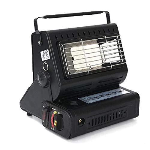 Sanfiyya Calentador de gas compacto portátil compacto móvil caravana al aire libre lámpara de calor butano para pesca camping Hicking patio interior