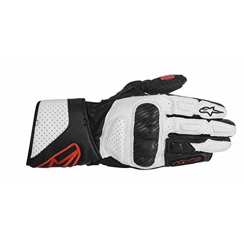 Alpinestars Stella SP-8 Damen Handschuhe, Farbe schwarz-weiss-rot, Größe XL / 10