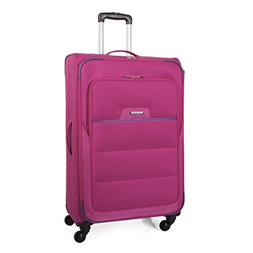 ITACA - 70970 TROLLEY POLIESTER 77CM, Color Fucsia