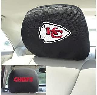 FANMATS 21373 Head Rest Cover NFL (Kansas City Chiefs)