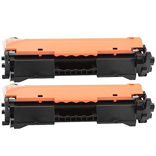 CF217A M102W M102A M130FW M130NW Cartucho de tóner de repuesto compatible para impresora láser HP M130A, con chip, alto rendimiento (paquete de 4), color Juego de 2 size