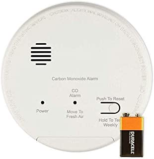Gentex GN-503F Smoke & Carbon Monoxide Alarm, 120V Hardwired Interconnectable Photoelectric w/9V Battery Backup, T3 & T4 Horns & Form A/C Relay Contacts (918-0007-002)