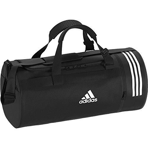 Adidas Cvrt 3s Duf M Borsone, 45 cm, liters, Nero (Negro/Blanco/Blanco)