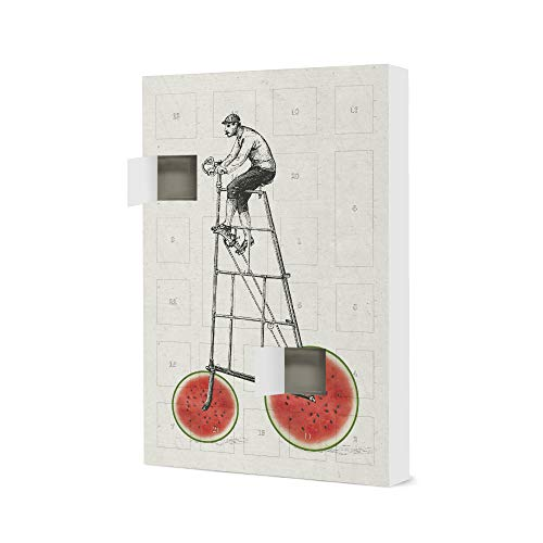 artboxONE Fill Your Own Advent Calendar Melon bikers People Christmas Calendar