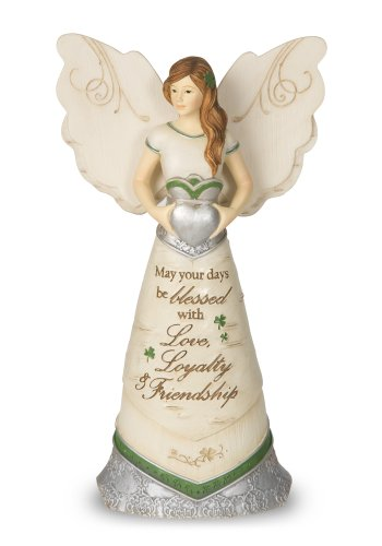 Pavilion Gift Company 82340 Elements Irish Blessings Angel Figurine, 6-1/2-Inch