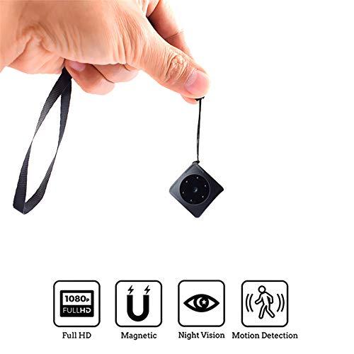 ALWAYZZ Detección Mini cámara Secreta CAM 1080P Full HD visión Nocturna Movimiento Deporte pequeño portátil de vídeo DV videocámara de Apoyo Oculto TFCard