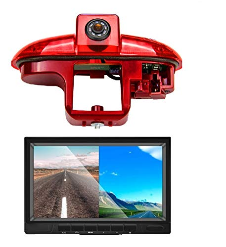 Telecamera posteriore di ricambio per telecamera di retromarcia, con schermo da 7 pollici, per Fiat Talento, Nissan Primastar Renault Trafic, Opel Combo, Vauxhall Vivaro
