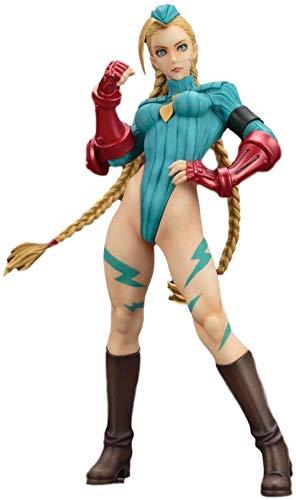 LJXGZY Nuevo Street Fighter Zero Street Fighter Pretty Girl Kami White Vers. Estatua de Regalo de cumpleaños Modelo de decoración de colección de Regalo de Escultura de 22 CM en Caja