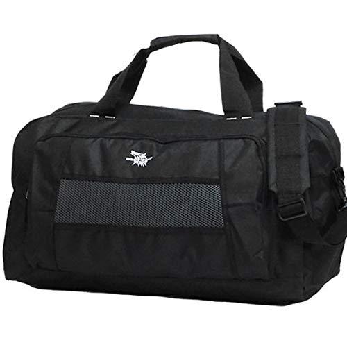 大容量 2WAY ボストンバッグ メンズ レディース 修学旅行 2泊 3泊 トラベルバッグ 旅行 バッグ スポーツバッグ ブラック 黒