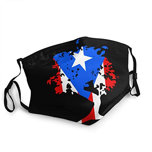 Japanese Bonsai Tree Puerto Rico Unisex Cover Pm2.5 Face Bandana for Camping Travel Mouth Scarf Shield 1 PCS