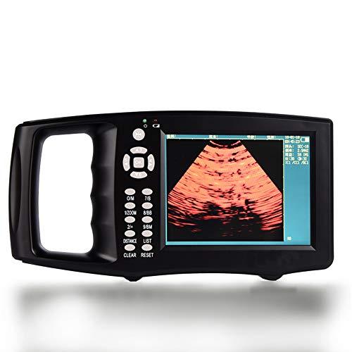 MMUY-1 Veterinaria Portátil Escáner De Ultrasonido, 4 Tipos De Pseudo Color, con 5.6-Pulgadas De Pantalla TFT En Color, De Cerdo (No Incluye El Gel De Acoplamiento)
