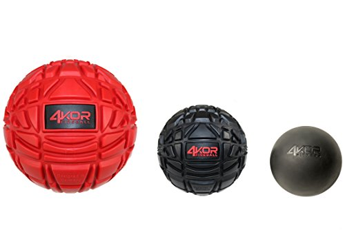 Save %43 Now! Ultimate Massage Balls & Lacrosse Ball Physical Therapy Set - Deep Tissue Trigger Poin...