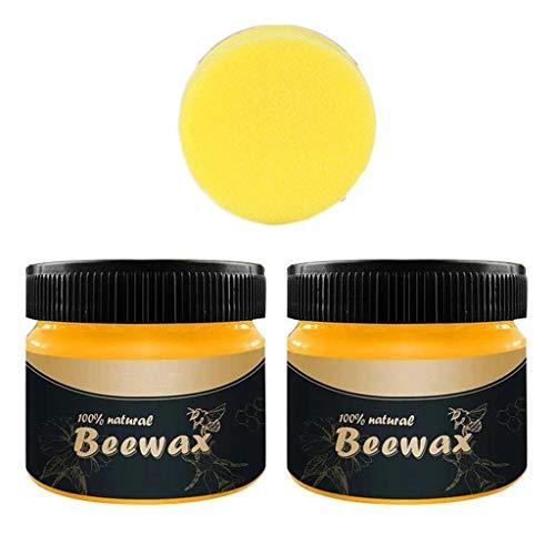 Serria® Holzgewürz Bienenwachs, Komplettlösung Möbelpflege Bienenwachs Reinigungsmittel, Wasserfestes und abriebfestes Bienenwachs, Erneuern Sie Schneidebretter, Hölzer