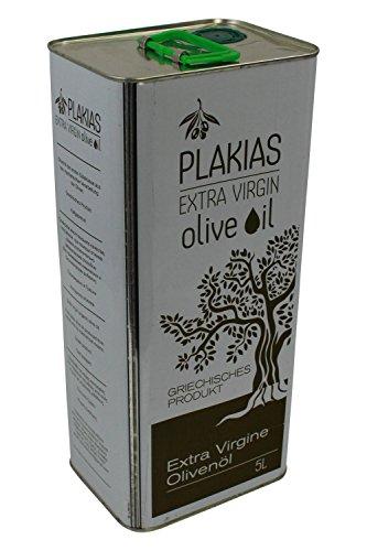 5 L Olivenöl extra nativ virgin aus Plakias Kreta Kanister Oliven Öl aus dem Süden Kretas Griechenland Koroneiki