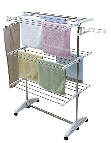 One Click Luxus clothes dryer, Clothes horse tower