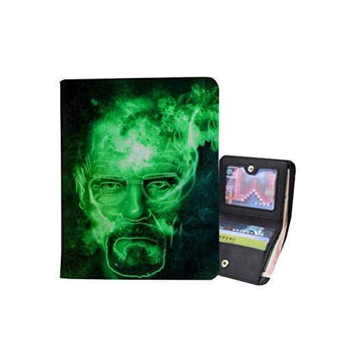 Breaking Bad Backpack Classic Casual Wallet Purse Fashionable Exquisite Wallet Purse High Quality Wallet Purse Unisex Women and Men Storage Wallet Purse Unisex