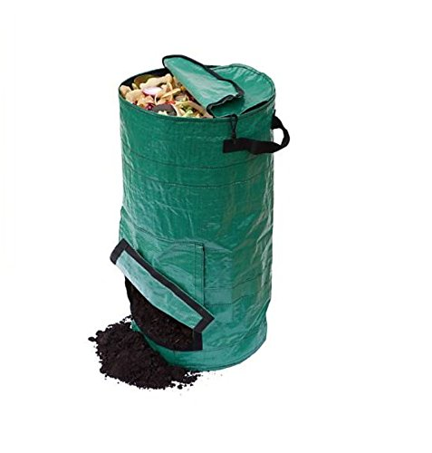 Review Of Mr.Garden Compost Bags - Collapsible Zipper Compost Bins for Storage of Waste in The Kitch...