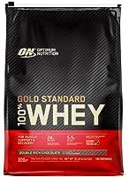 مسحوق بروتين مصل الحليب 100٪ جولد ستاندرد من اوبتيمام نيوتريشين، 10 أرطال، 154 حصة غذائية, 1054638 , , 10 lbs, ,