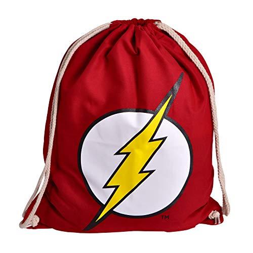 Elbenwald Flash Sportbag con gran flash Logotipo icono Frontprint 46 x 36 cm rojo