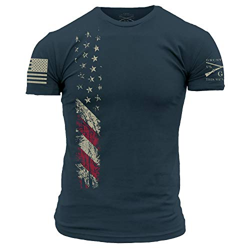 Grunt Style True Colors T-Shirt - Large Navy