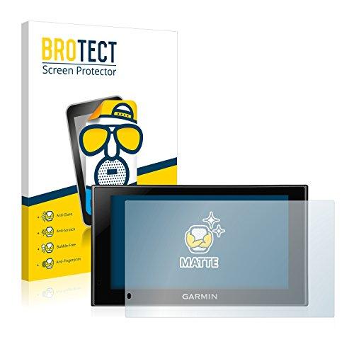 BROTECT 2X Entspiegelungs-Schutzfolie kompatibel mit Garmin nüvi 2599LMT-D Displayschutz-Folie Matt, Anti-Reflex, Anti-Fingerprint