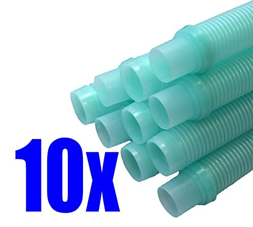 Great Features Of Destroyer Plastics Kreepy Krauly (Universal 1½) 48 Pool Cleaner Hose-Aqua 10-Pa...